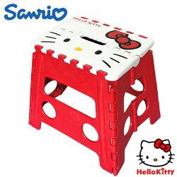 【真愛日本】 17082900002 收納折疊椅M-KT 三麗鷗 kitty 凱蒂貓 折疊椅 收納椅 椅子 手提