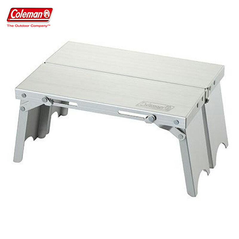 【露營趣】Coleman CM-21986 輕便摺疊小桌 折疊桌 摺疊桌 野餐桌 露營桌 休閒桌 茶几 小折桌