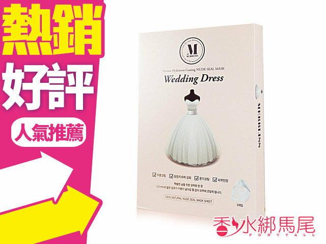 韓國 Merbliss wedding dress 新娘婚紗 面膜 ^(盒 5入^)◐香水