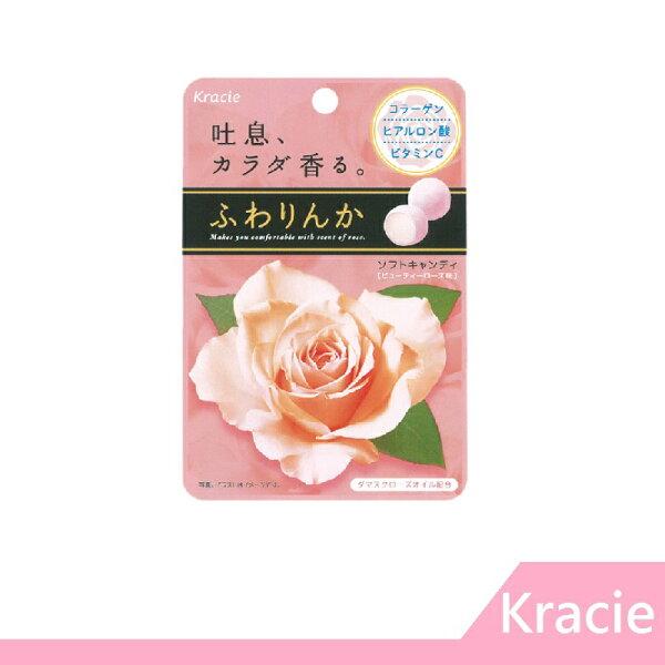 RH shop:【RHshop】日本Kracie玫瑰薔薇花香軟糖味覺糖(32G)