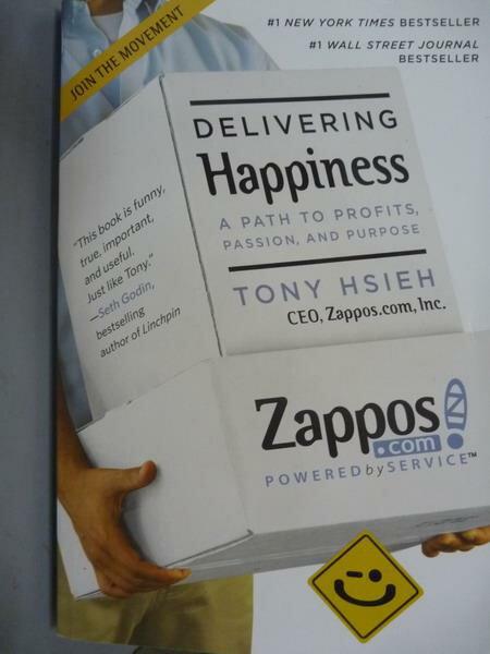 ~書寶 書T4/原文書_QGC~Delivering Happiness_Tony Hsi