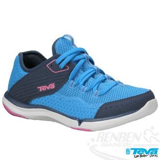 TEVA REFUGIO女用水陸兩棲多功能運動鞋(馬里布藍)TV1003983MBB