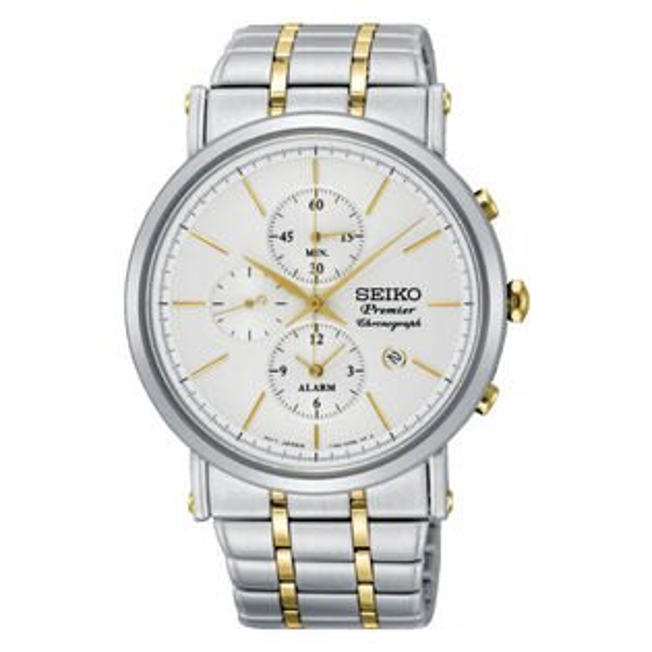 Seiko精工錶7T62-0LK0S(SNAF73J1)正裝系列纖薄羅馬計時腕錶白面41mm