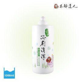 木酢達人- 天然黃金水木酢浴廁清潔劑1000ml補充瓶