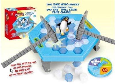 【桌遊/遊戲】企鵝破冰桌遊/益智拯救企鵝遊戲/敲冰塊/槌冰玩具