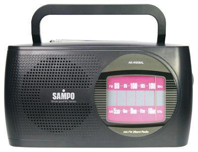 <br/><br/>  SAMPO 聲寶 (AM/FM)手提式收音機,AK-W906AL<br/><br/>