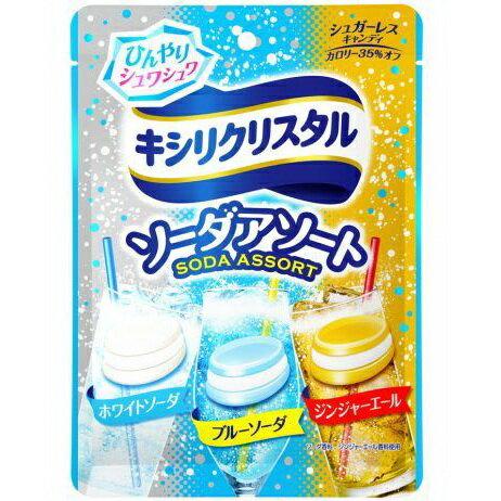 【Mondelez 三星】綜合蘇打汽水糖 SODA ASSORT 59g ??????????????? 日本零食