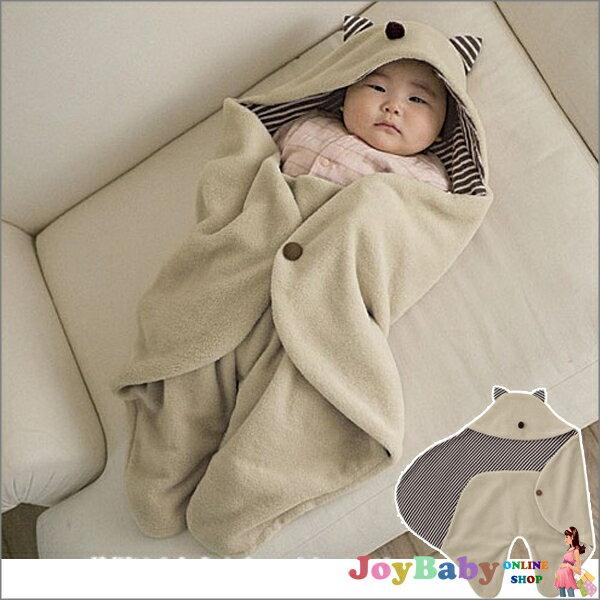 嬰兒包巾/造型睡袋多功能 推車專用保暖睡袋 /外出抱毯小魔怪造型【JoyBaby】