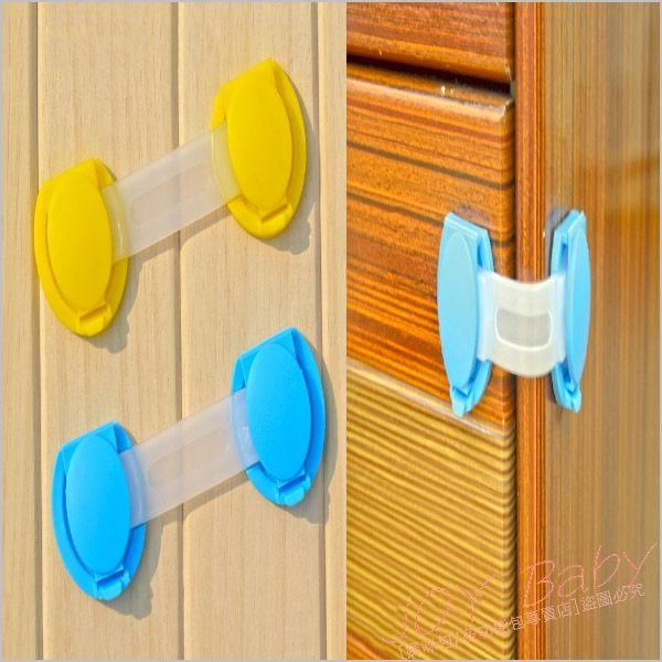 抽屜鎖/短鎖/2入寶寶安全用品櫃門鎖【JoyBaby】