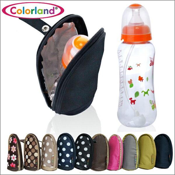 單瓶奶瓶保溫袋/便攜可掛車/Colorland 奶瓶收納袋 AVENT 貝親 奇哥 奶瓶可用【JoyBaby】