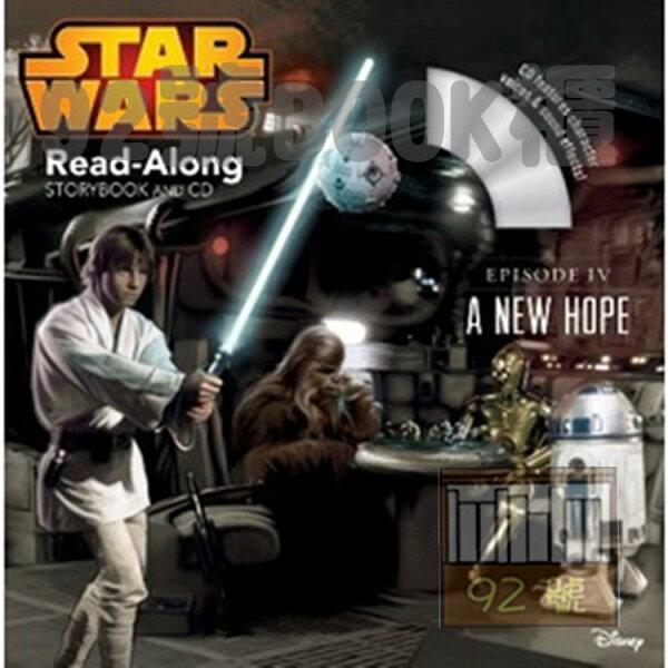 92號BOOK櫃-參考書專賣店:StarWars:ANewHope(Book&CD)