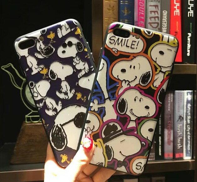 i6 i6s i6plus i7 i7plus 史努比 立體浮雕手機殼 全包邊矽膠軟殼 蘋果6 可掛繩 手機保護殼
