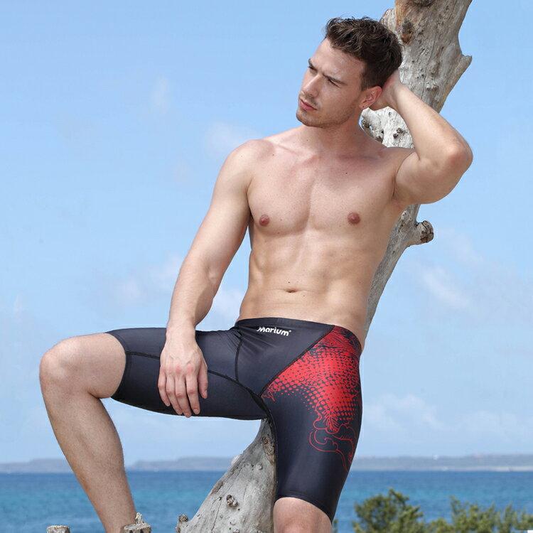 【≡MARIUM≡】大男競賽型鯊魚褲(MAR-5116)