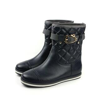 Hello Kitty 短靴 黑色 女鞋 no016