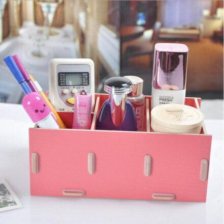 遙控器收納盒 - 韓版木質小物收納盒'/創意收納箱