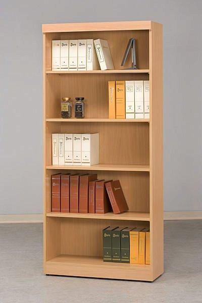 【尚品家具】CF-500 山毛櫸 2.7 尺 開放 書櫃