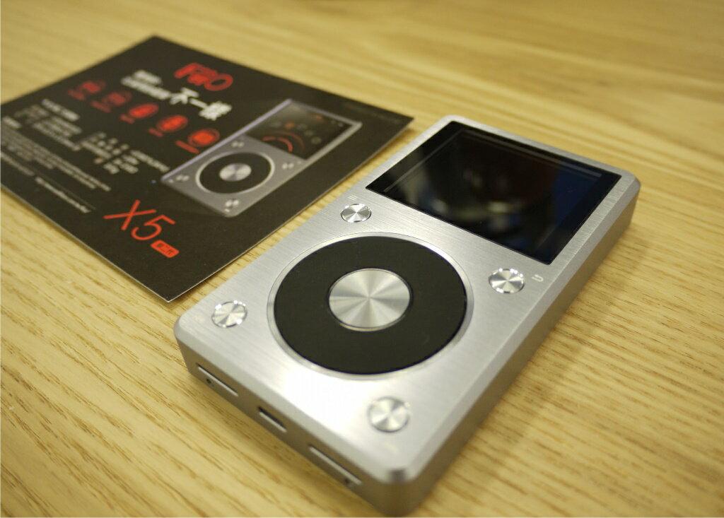 FiiO X5二代 X5II 專業隨身Hi-Fi音樂播放器 支援128G記憶卡