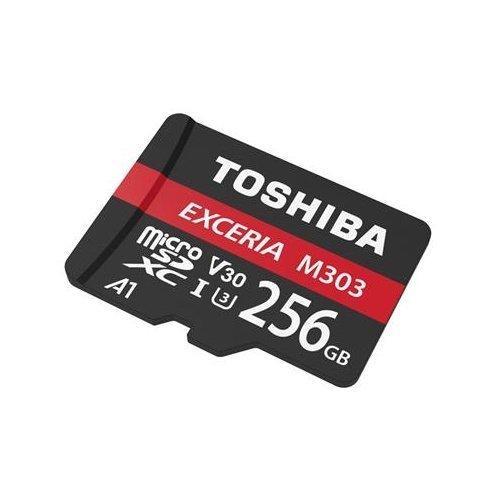 TOSHIBA 手機記憶卡 【THN-M303R2560A2】 M303 Micro-SD 256GB U3 新風尚潮流