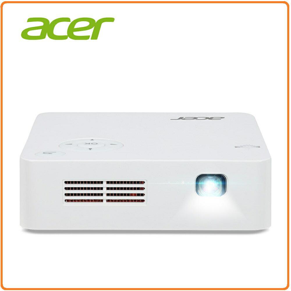 ACER C202i LED微型投影機9000 mAh 內建電池可作行動電源用