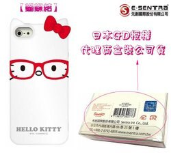 葳爾洋行 Wear 【Kitty 蝴蝶結】日本原裝保護殼 Apple【iPhone5、iPhone5S】三麗鷗原廠授權、先創盒裝公司貨