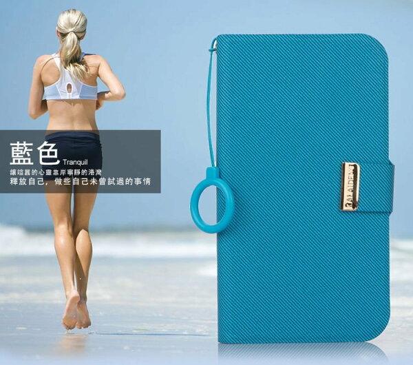 葳爾洋行WearAPPLE【iPhone5專用】韓式風格,可立式惻翻式皮套【WEI盒裝公司貨】