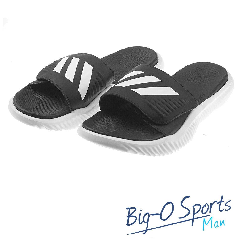 ADIDAS 愛迪達 ALPHABOUNCE SLIDE 運動拖鞋 男 BA8775 Big-O SPORTS