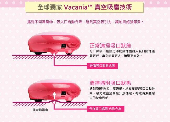趴趴走 MACARON馬卡龍迷你自動機器人吸塵器(草莓紅) RVMA2-AR 3