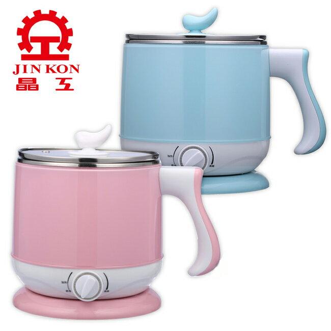 【晶工】2.2L多功能不鏽鋼電碗/美食鍋 JK-301(單個)