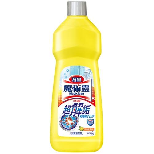 魔術靈 浴室清潔劑 舒適檸檬香 經濟瓶 500ml