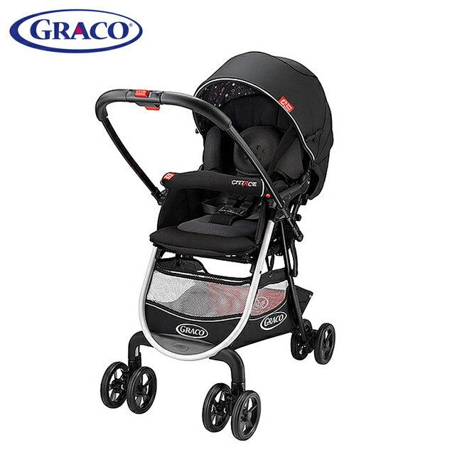 GRACO 購物型雙向嬰幼兒手推車 城市商旅 CITIACE CTS-小花朵