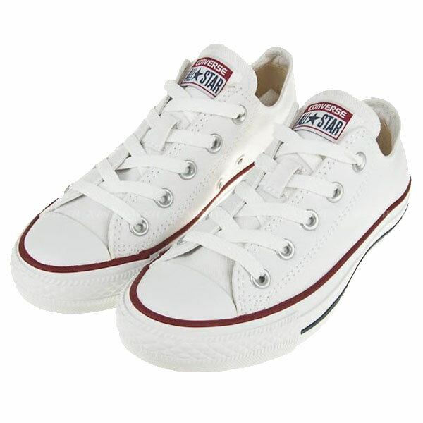 【CONVERSE】CHUCK TAYLOR ALL STAR 基本款 休閒鞋 白色帆布鞋 情侶鞋 (男女鞋)-M7652C
