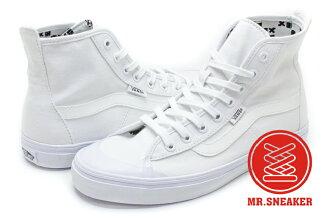 【整點特賣限時5折】☆Mr.Sneaker☆ VANS x Summer Bummer 聯名 Dazie-Hi 高筒 帆布 夜光 白色 女段 (23.5CM)