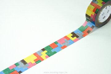 *小徑文化*日本和紙膠帶 mt 2012 AW 新柄 套圈圈 - 拼圖 ( MTMINA12 )