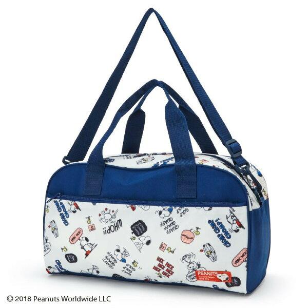 X射線【C817414】史努比Snoopy2用波士頓包-藍,束口背袋後背包縮口提袋帆布手提袋便當袋補習袋文具袋購物袋