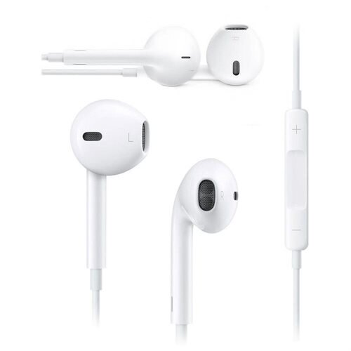 Apple EarPods with Remote and Mic - Stereo - White - Mini-phone - Wired - Earbud - Binaural - Outer-ear 0