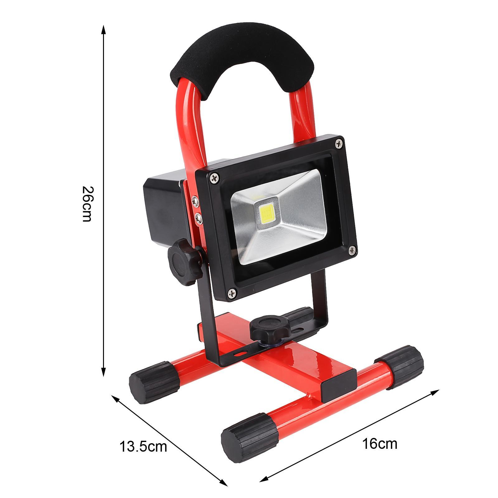 10W Wireless Rechargeable LED Flood Light Outdoor Camping Hiking Lamp 5