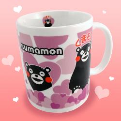 【KUMAMON 酷MA萌】NO54熊本熊馬克杯(愛意滿滿款)