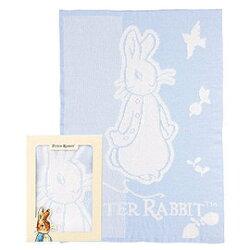 奇哥 Peter Rabbit 比得兔雙層柔舒毯禮盒(藍色) PLB49200B【精選彌月禮盒組】【紫貝殼】