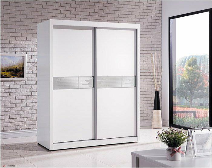 【尚品家具】 HY-A100-03 貝拉5x7尺衣櫥