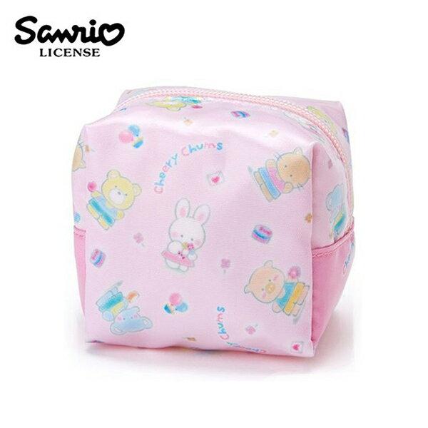 【日本正版】凱莉兔方型收納包防潑水化妝包小物收納CheeryChums三麗鷗Sanrio-577967