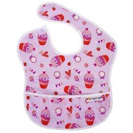 BabyCity娃娃城-防水圍兜(6-24M)紅色杯子蛋糕148元