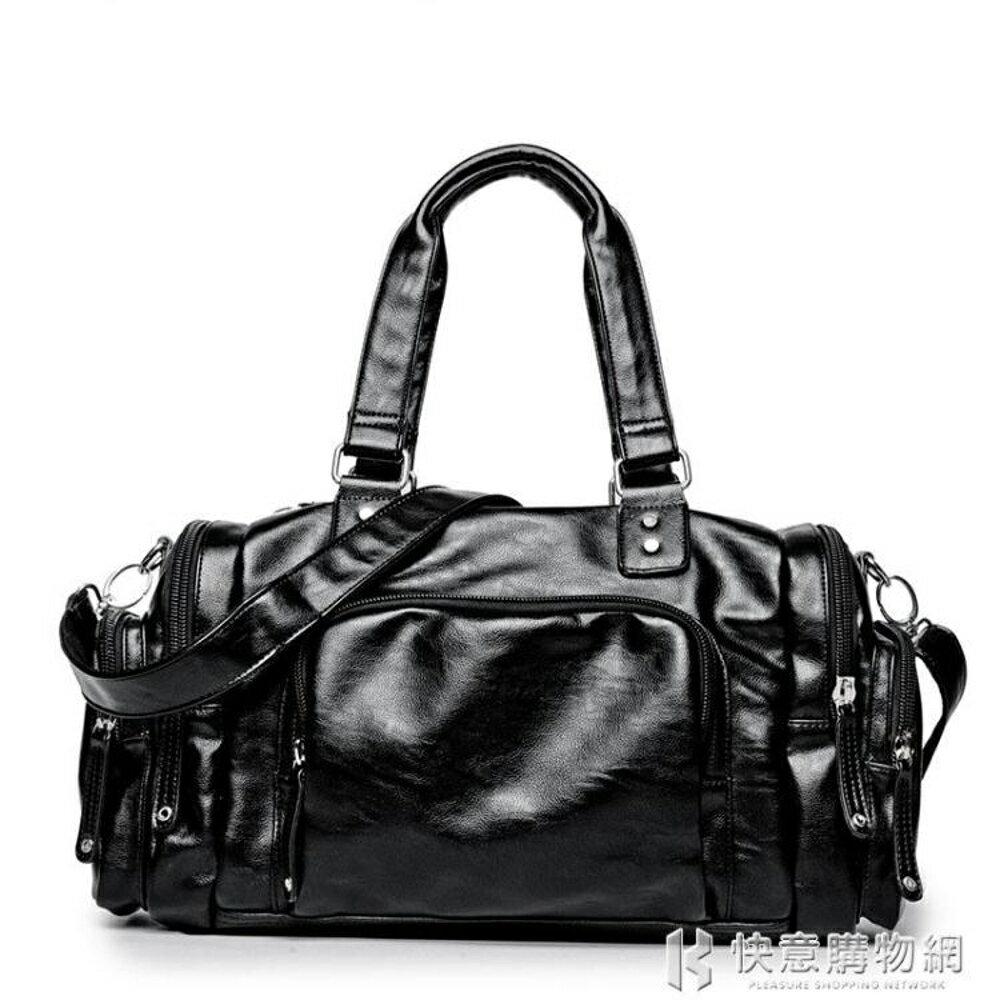 行李袋男士青年背包簡約戶外包旅游手提包大容量旅行包運動背包 快意購物網SUPER 全館特惠9折