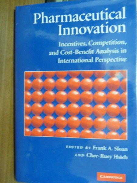 【書寶二手書T4/原文書_QKV】Pharmaceutical Innovation_Sloan