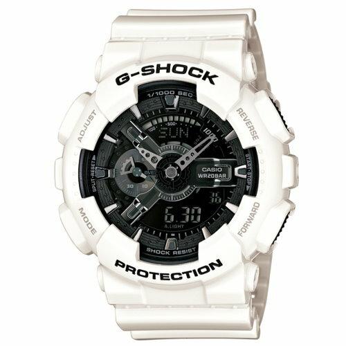 CASIO 卡西歐 G-SHOCK 雙顯潮流運動錶(限量) GA-110GW-7ADR 原廠公司貨 附保證卡 保固期一年 手錶 運動錶 電子錶
