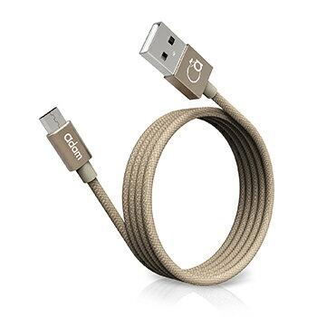 【亞果元素】Micro USB Cable金屬編織傳輸線1.2m - 限時優惠好康折扣