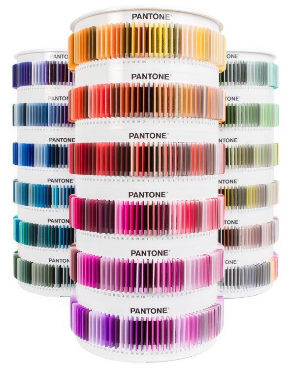 【美國製】 PANTONE 色票 色號 色調 創意 設計 文創 衣服 服飾 流行 PSC-PS1755 Plus 1755 Collection 塑膠標準色片系列 /組