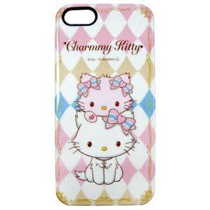 iPhone5S 三麗鷗 Charmmy Kitty 姊妹 手機硬殼 Enya恩雅^(郵寄