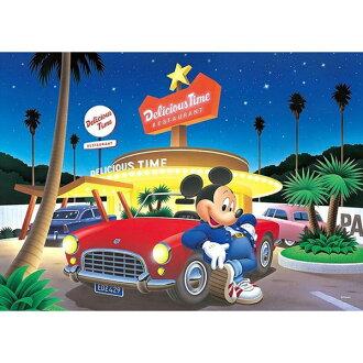 【進口拼圖】迪士尼 DISNEY-米奇 復古星光之城 300片夜光拼圖 D-300-287