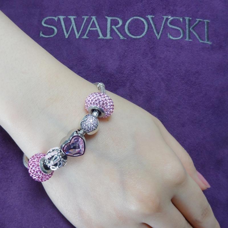 SWAROVSKI 施華洛世奇元素 925純銀手鍊 B19