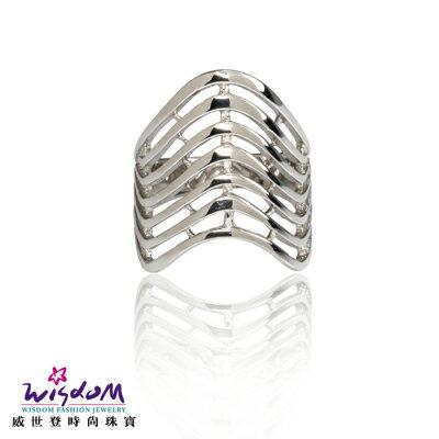 925 魔力流線銀戒 戒指 情人節 生日 送禮物 威世登時尚珠寶